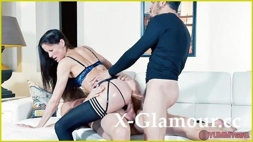 """Sofie Marie in """"Stepsiblings Reconnect Dp Threesome"""" [FullHD]"""
