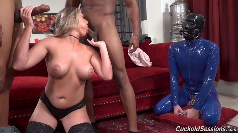 Kayley Gunner - Two Big Black Cock [FullHD 1080P]
