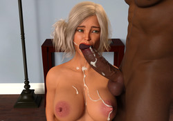 DanP - 3D Hot girls and collection of interracial sex