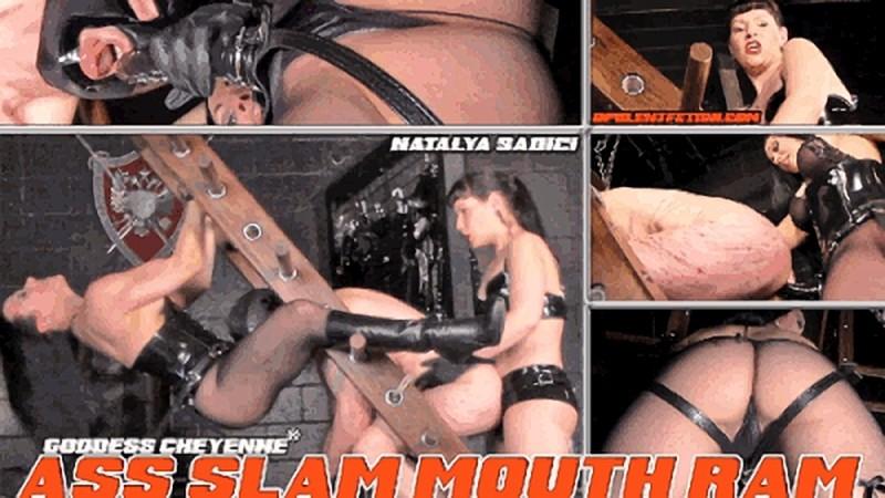Goddess Cheyenne - Ass Slam Mouth Ram [HD 720P]