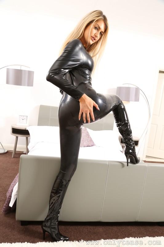 dominatrix Lola A catsuit fetish album