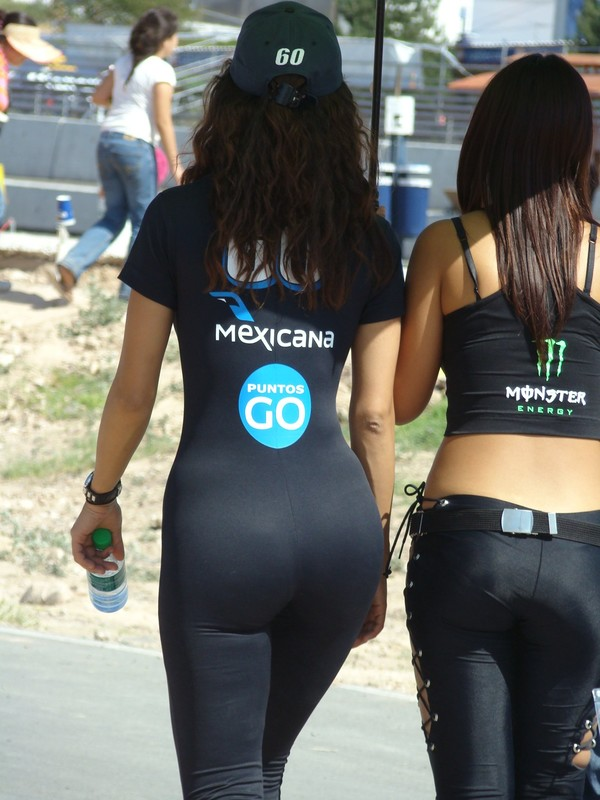 mexican promo girls in kinky spandex
