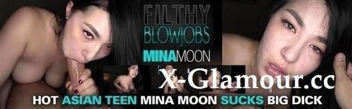 Mina Moon - Hot Asian Teen Mina Moon Sucks Big Dick [FullHD/1080p]