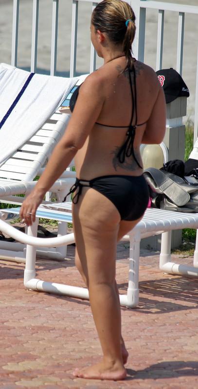 bikini babes by the pool