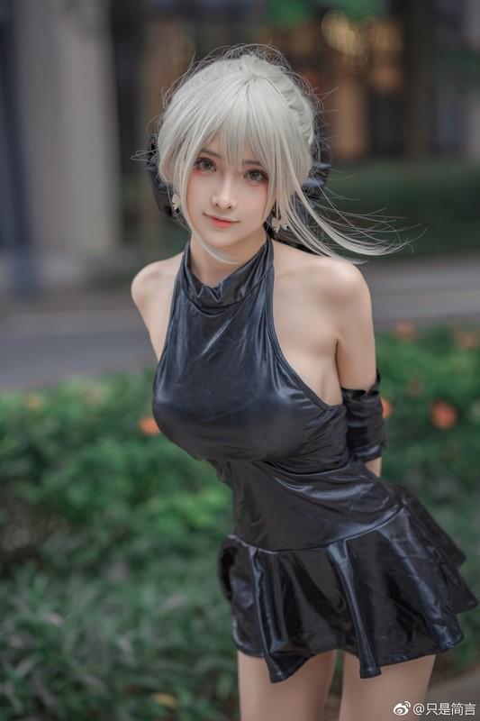 只是简言&腐团儿 - saber cosplay collection by [65.6MB] 知名Coser-第1张