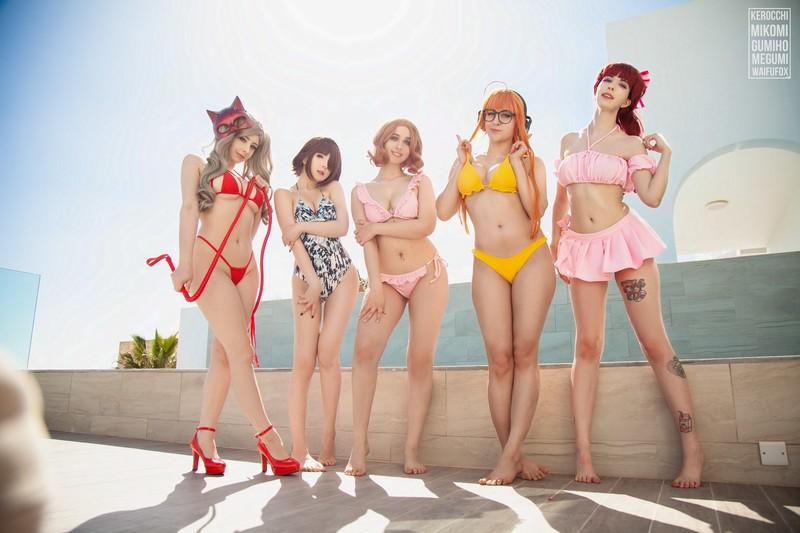 Persona 5 Bikini (with videos)[564.3MB] 国外网红&Coser-第1张
