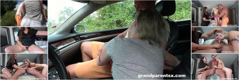 Yvette - Teen with broken car gets fucked (FullHD)