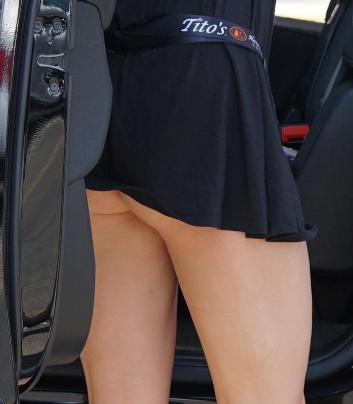 lovely tourist girls in bikinis & shorts