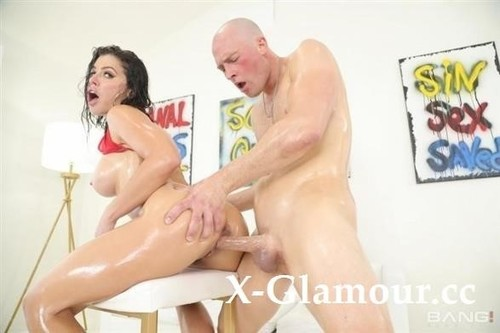 """Adriana Chechik in """"Lets A Big Dick Stretch And Stuff Her Oily Holes"""" [FullHD]"""