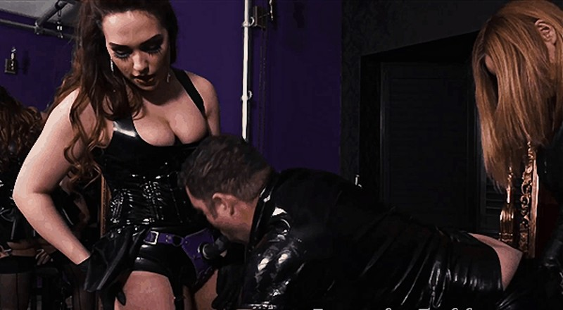 Step-Mother and Step-Daughter Spit-Roast Slave [FullHD 1080P]