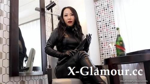 Mistress Youko - Black Leather Dominatrix (FullHD)