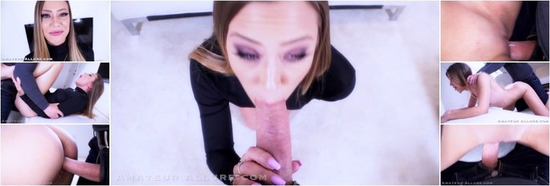 Avery Cristy - Amateur Allure Welcomes Avery Cristy For a Blowjob, Fuck and Swallow (FullHD)
