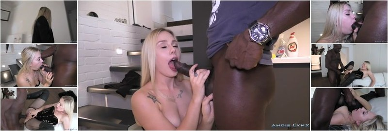 Angie Lynx - ADDICTED TO BIG BLACK DICK SUBMISSIVE TO BLACK MAN (FullHD)