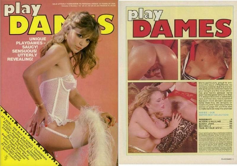 Play Dames V3 N10 (1980s) PDF