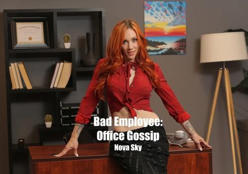 WillTileXXX – Nova Sky Bad Employee Office Gossip [FullHD 1080p]